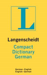 Langenscheidt Compact Dictionary German picture